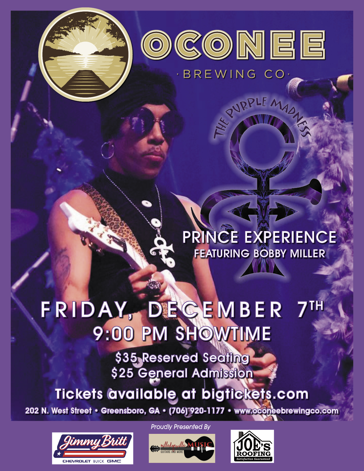 The Purple Madness Prince Experience