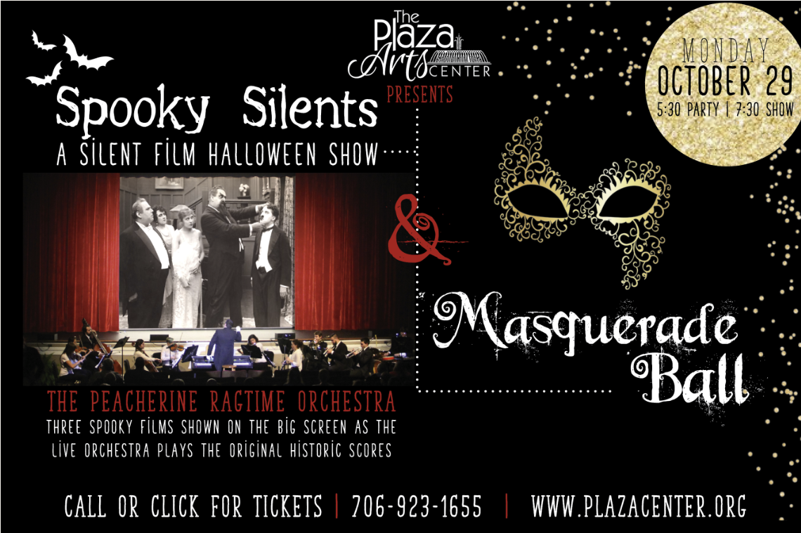 Spooky Silents – Silent Film Halloween Show and Masquerade Ball