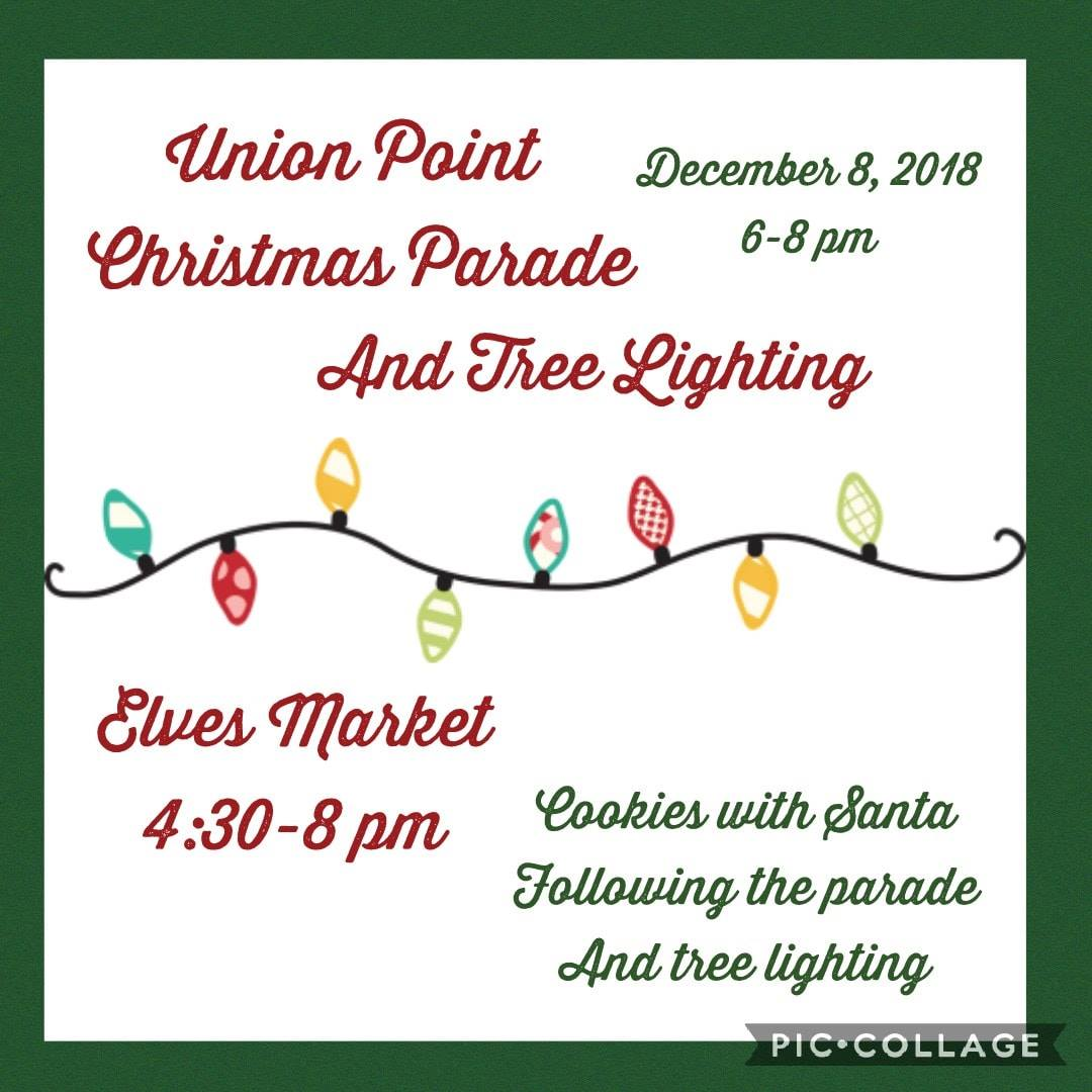 Union Point Christmas Parade and Tree Lighting