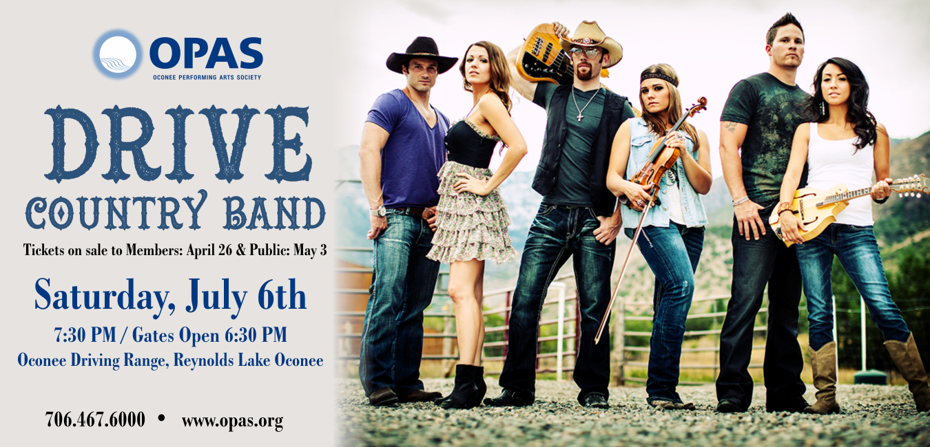Summer Concert Featuring Drive Country Band
