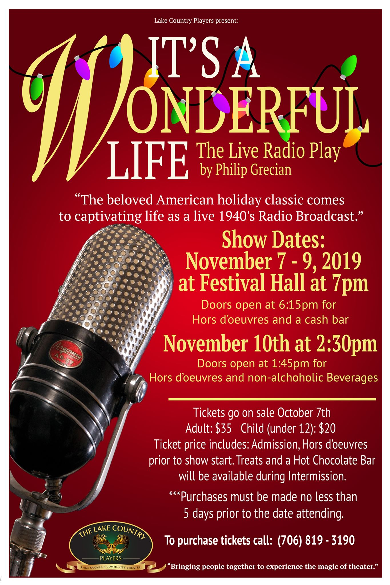 It's a Wonderful Life: The Live Radio Play