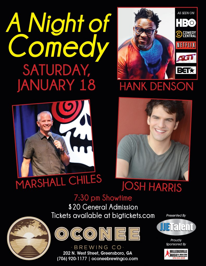 A Night of Comedy Flyer